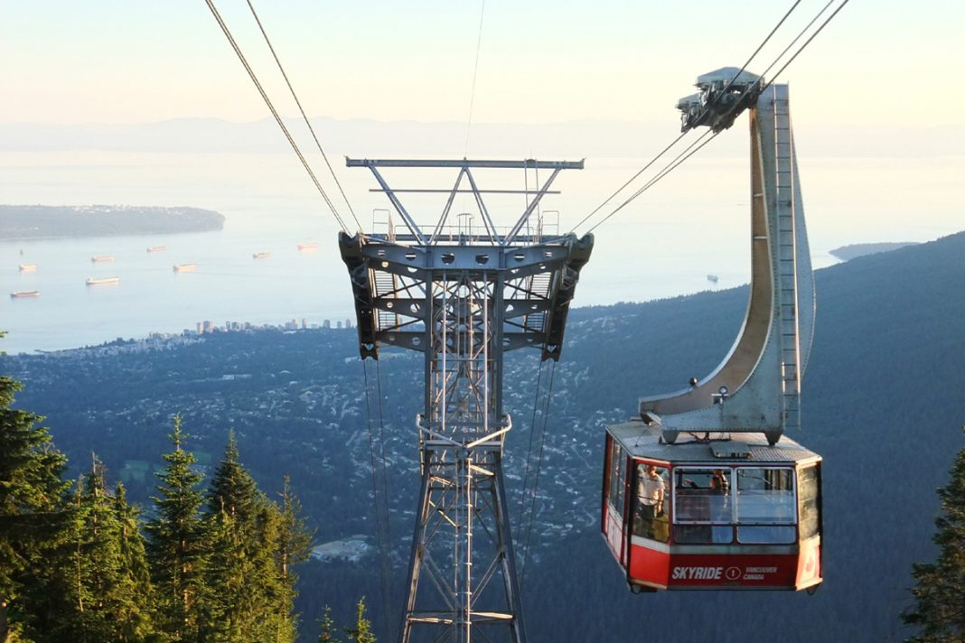 Grouse Mountain SkyRide, Vancouver, British Columbia; Photo by ©Pacific Walkers