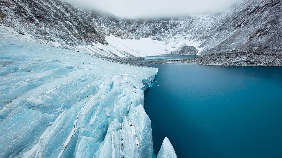 Torngats Mountains Ice, Labrador, NL