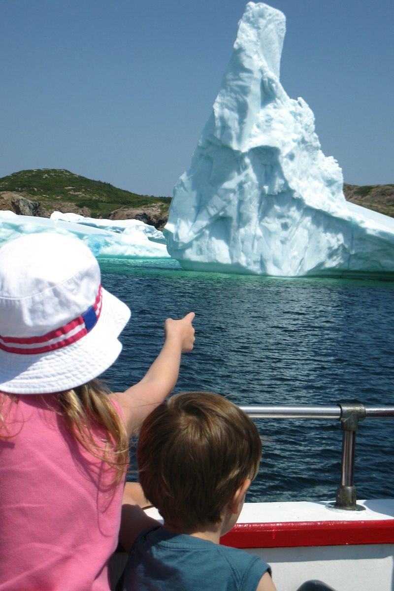 Iceberg Tour, Twillingate, Central, Newfoundland