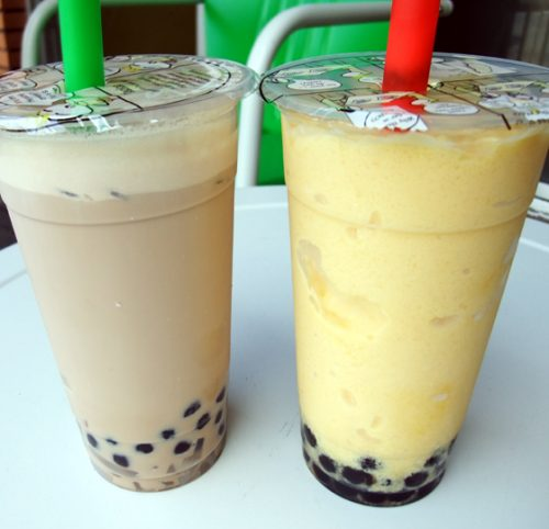Babble Tea Mango & Milk tea Vancouver