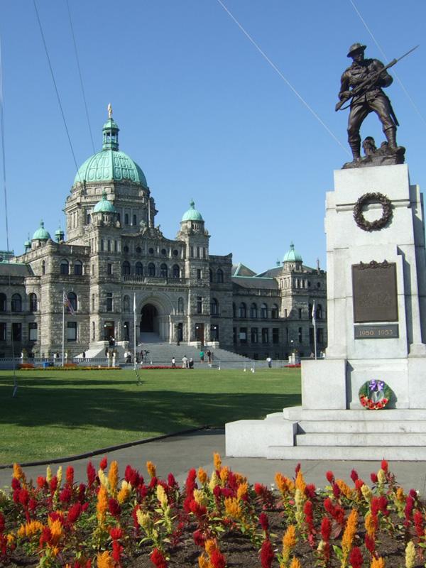 BC Legislature and statue