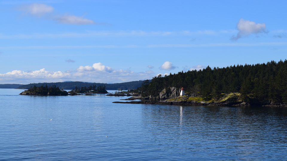 From Ferry to Victoria