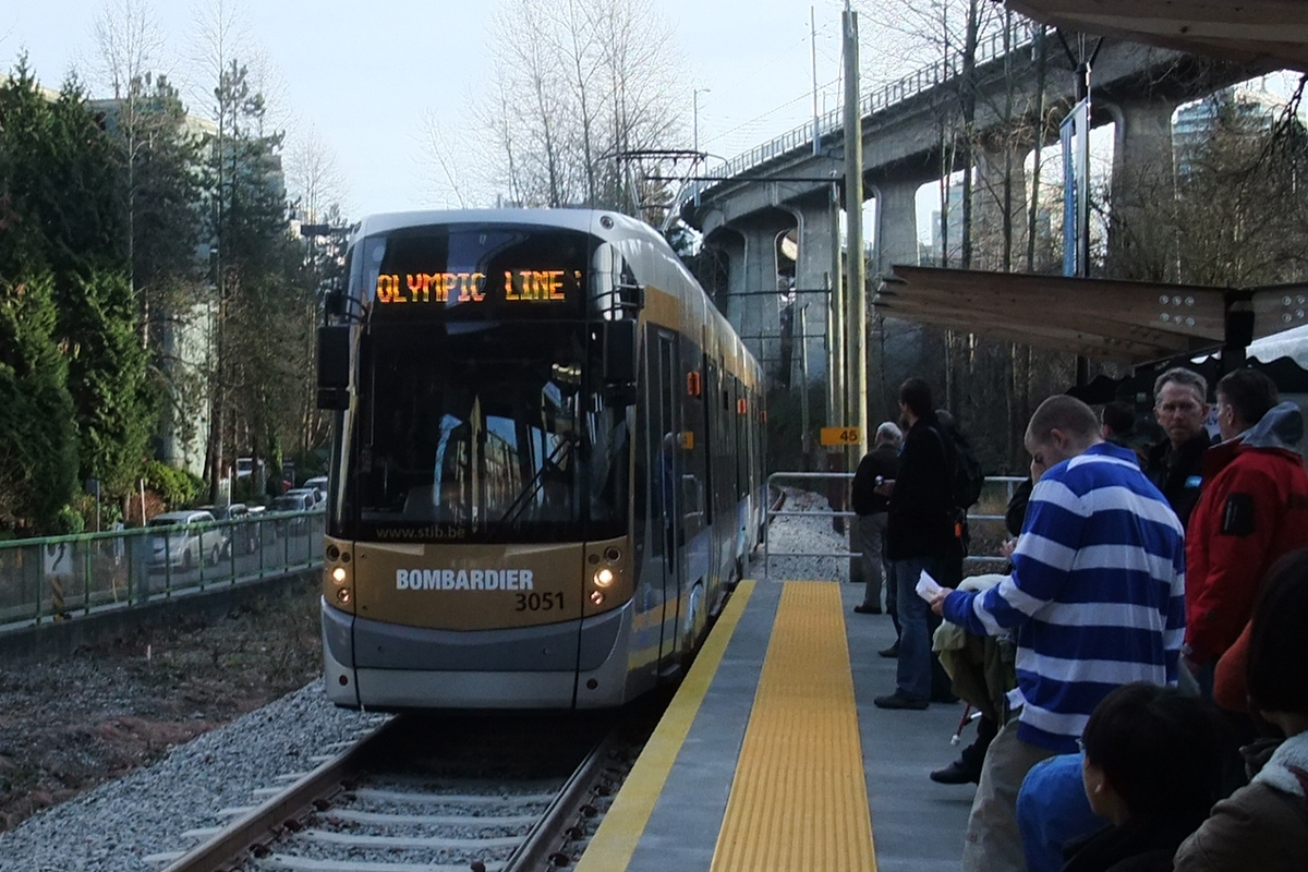 Olympic Line at Granville Island Station, Vancouver, Canada, 2010; Photo by ©Pacific Walkers