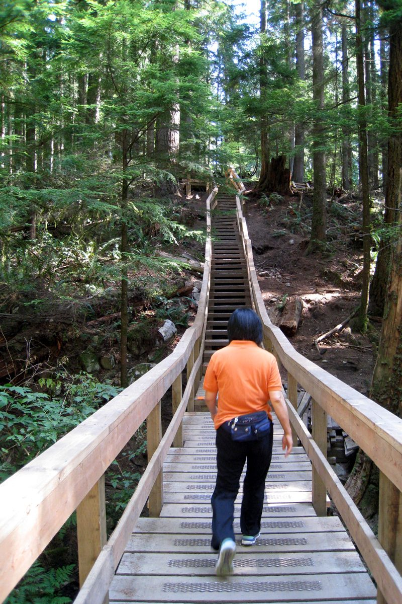 Baden Powell Trail, Deep Cove, North Vancouver, British Columbia; Photo by ©Pacific Walkers