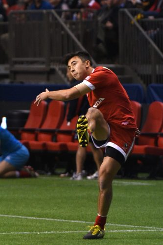 Nathan Hirayama of Team Canada