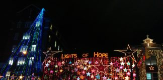 Lights of Hope in Vancouver, BC, Canada
