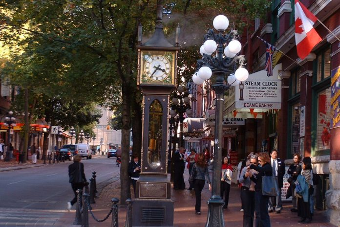 Gastown, Vancouver, BC; Photo by ©Pacific Walkers/ File photo