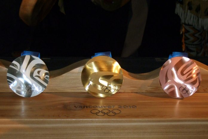Vancouver Olympic Medals: Photo by ©Pacific Walkers