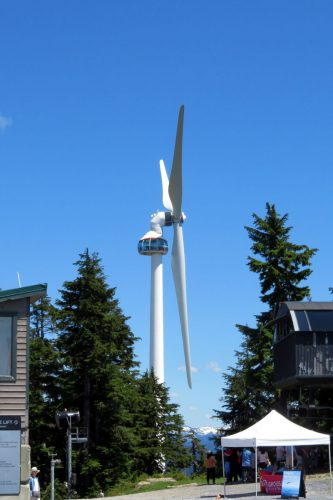 Wind power generating site ; Photo by ©Pacific Walkers