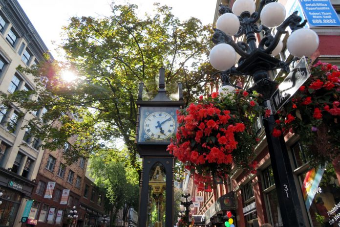 Gastown, Vancouver, BC, Aug 2018; Photo by ©Pacific Walkers