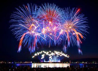 "Sweden on August 4, 2018, ""The Honda Celebration of Light"", English Bay, Vancouver, British Columbia; Photo: © Koichi Saito, www.k-graphicphoto.com"