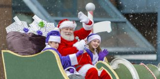 Photo from the website of Telus Presents Vancouver Santa Clause Parade