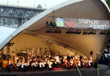 Symphony at Sunset by VSO, Vancouver, BC; Photo by ©Yu Natsumi