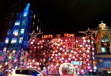 Lights of Hope, Vancouver, BC; Photo by ©Pacific Walkers